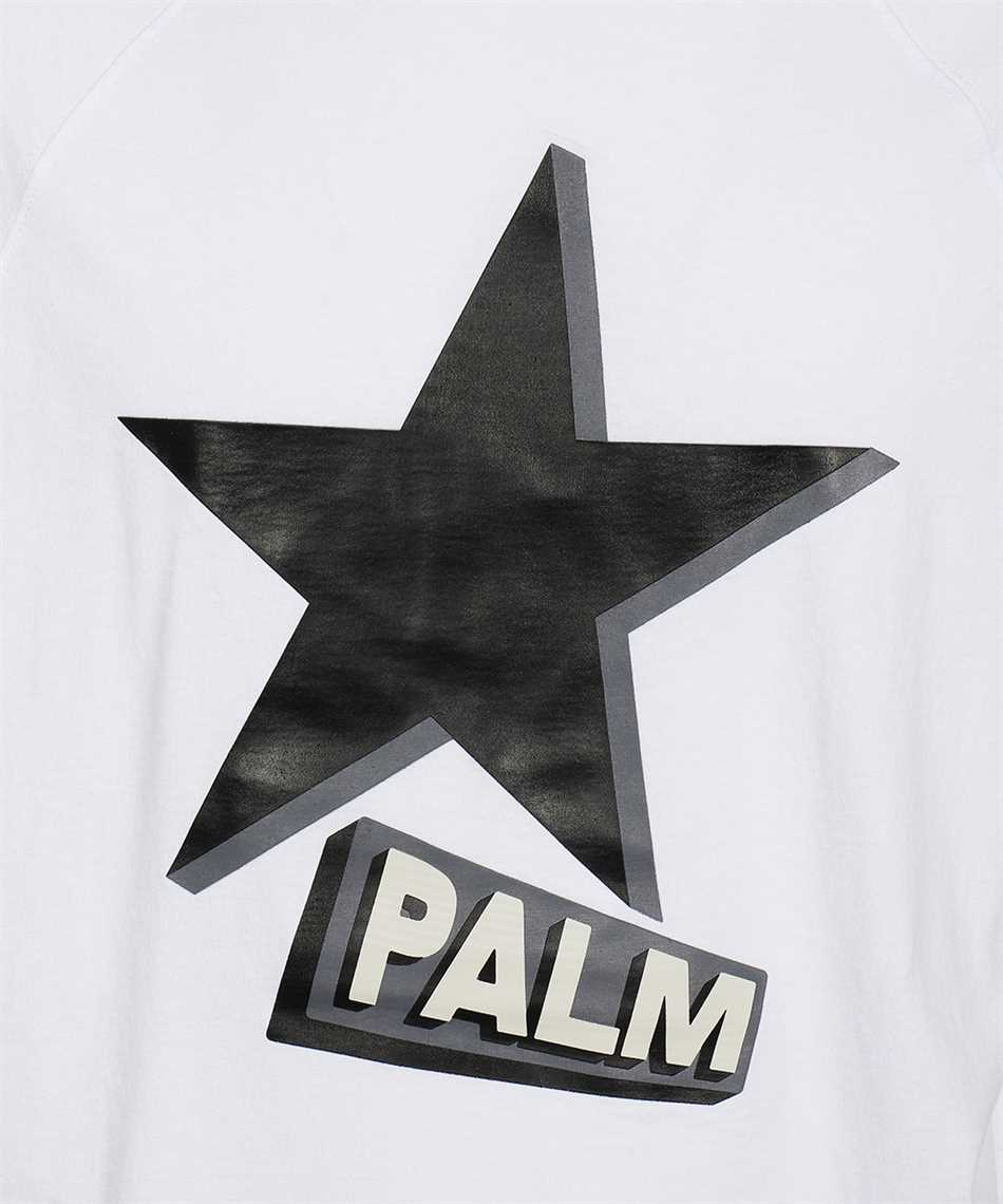 Palm Angels PMAA068F21FLE001 ROCKSTAR OVER RAGLAN T-shirt 3