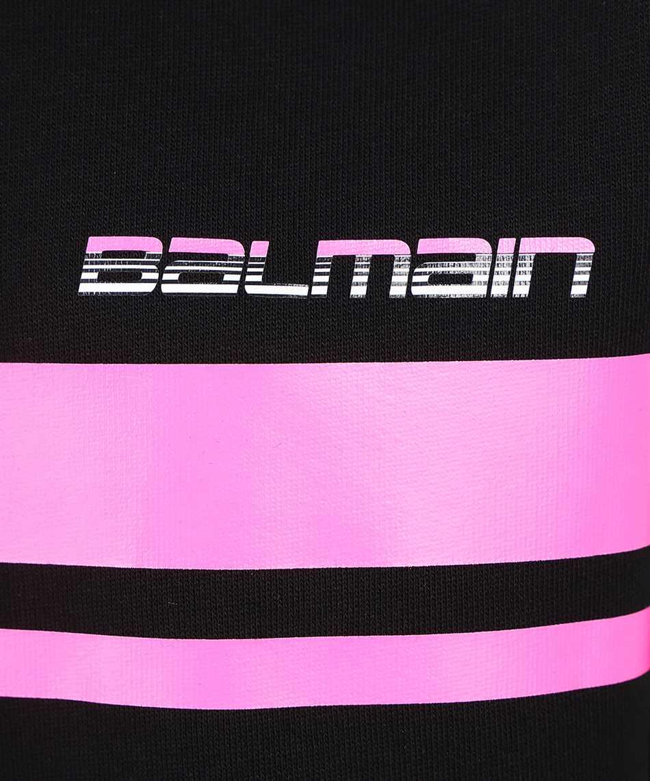 Balmain WF2JQ000B099 PRINTED LOGO Felpa 3
