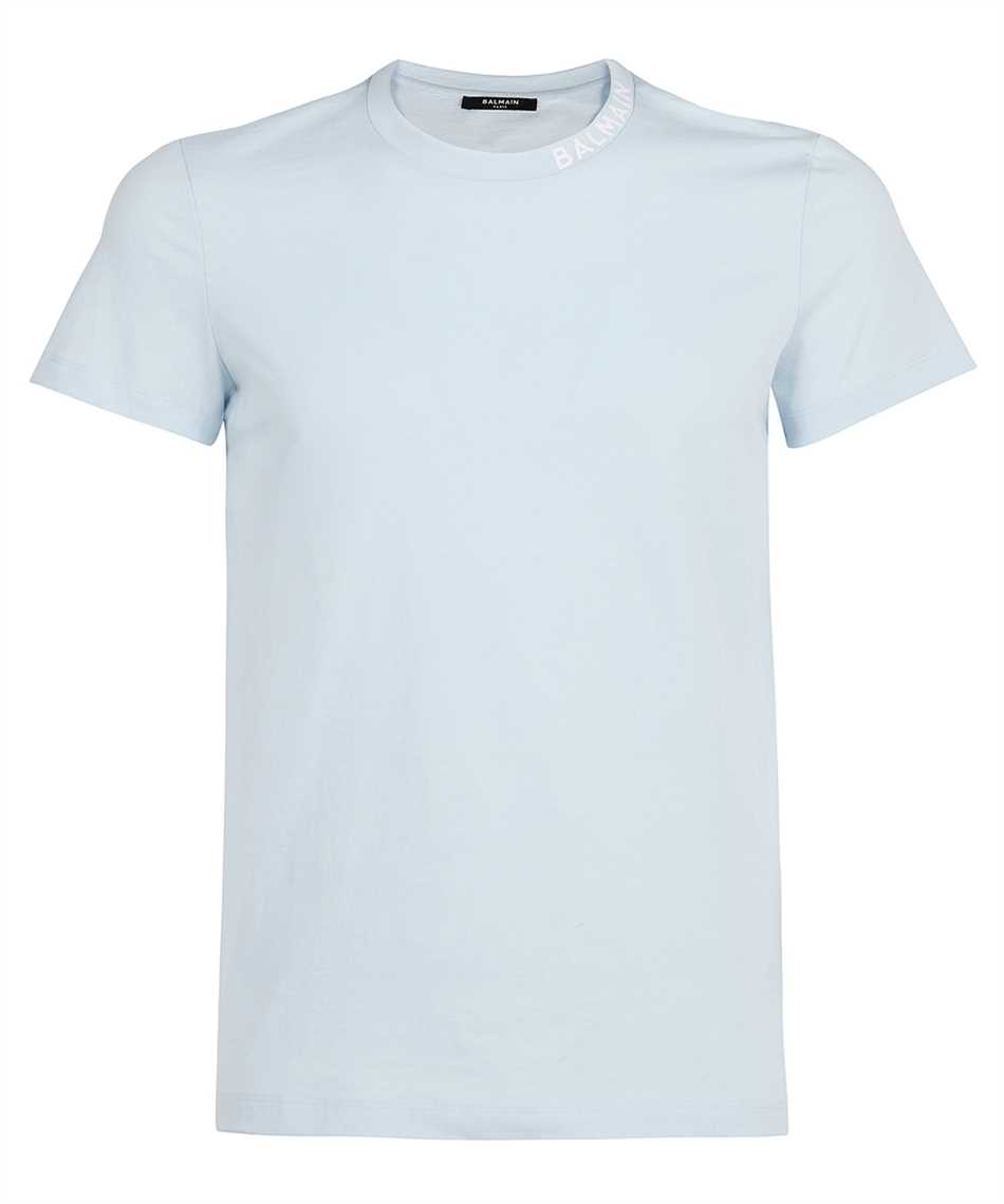 Balmain WH1EF006B129 PRINTED COLLAR T-shirt 1