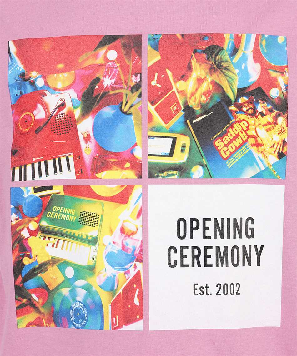Opening Ceremony YMAA001S21JER006 BOXES PRINT REGULAR T-shirt 3