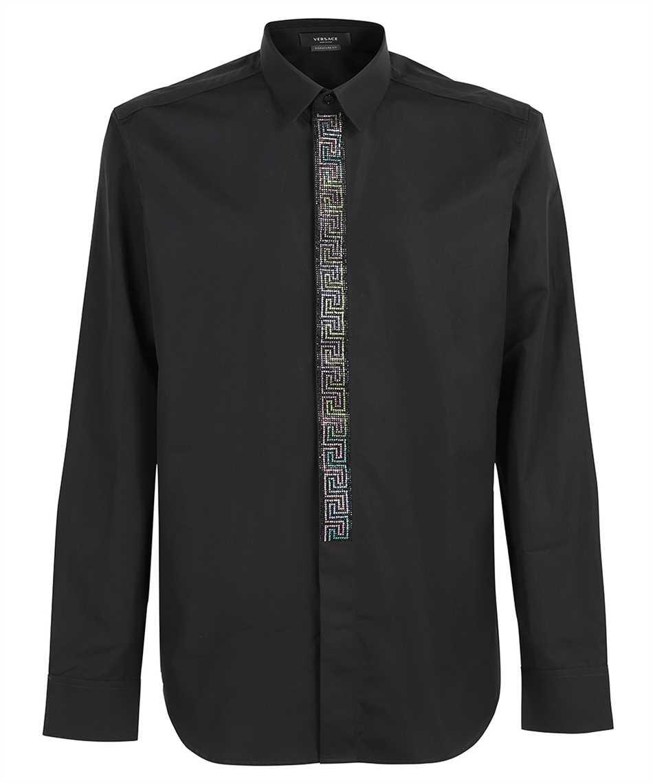 Versace 1001308 1A00970 EVENING POPELINE GRECA Shirt 1