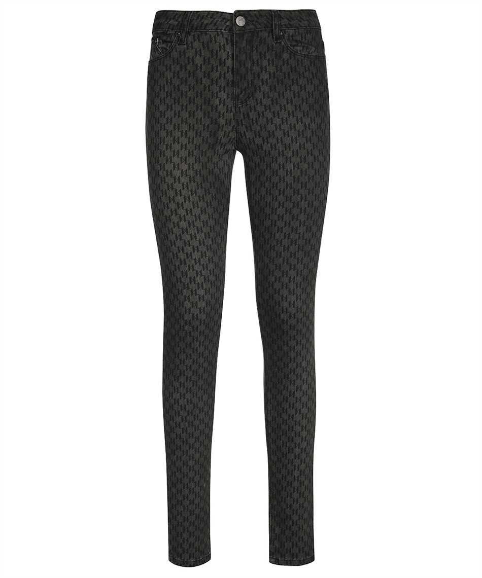 Karl Lagerfeld 216W1102 MONOGRAM SKINNY Jeans 1