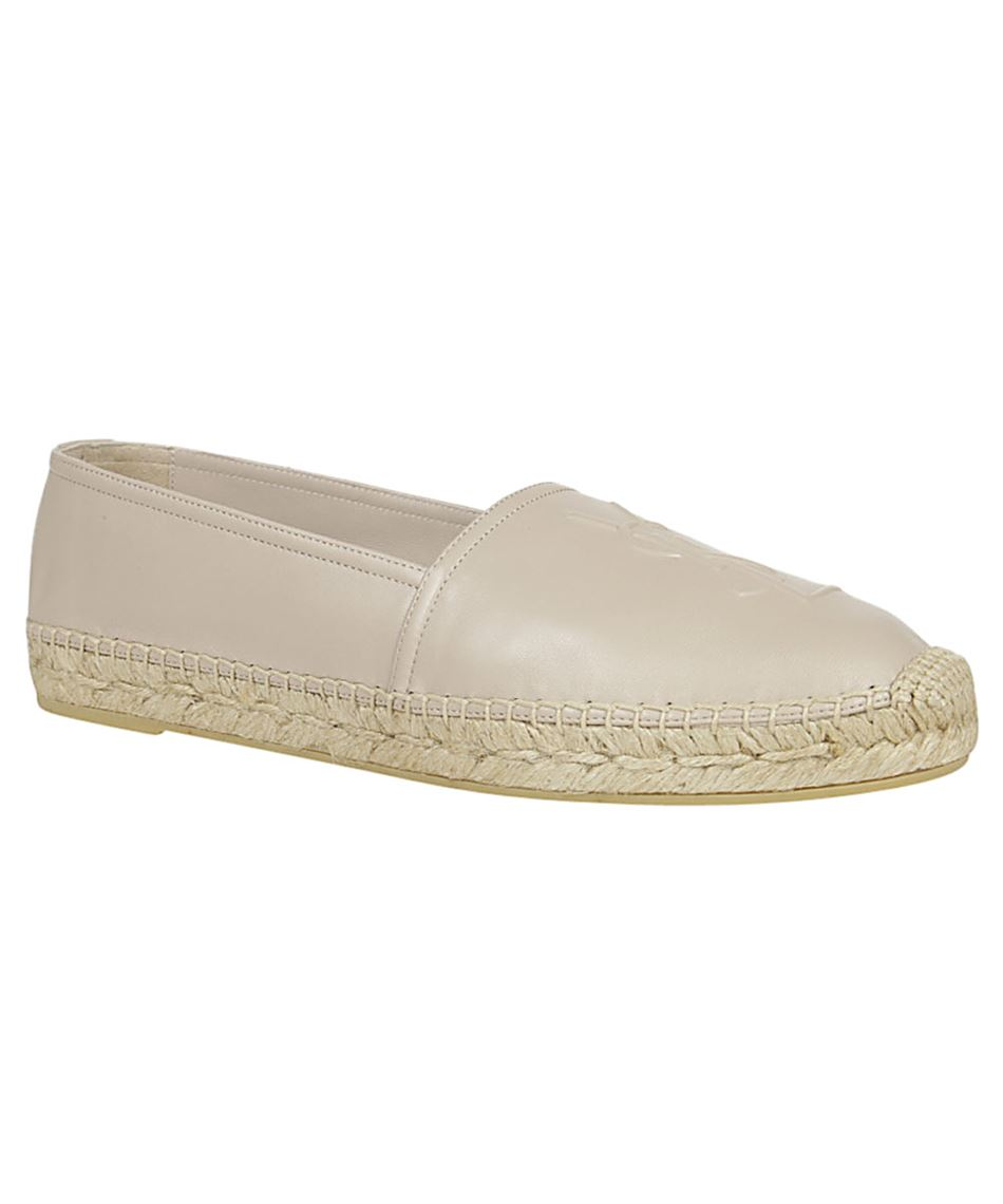 Saint Laurent 458573 B3400 EMBOSSED Espadrilles 2