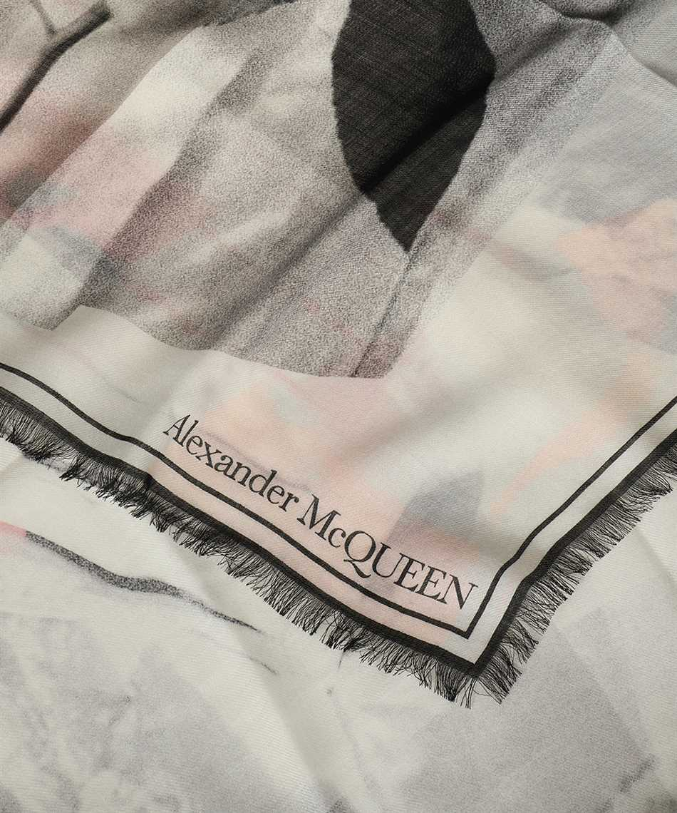 Alexander McQueen 650046 3200Q 138X138 Scarf 2