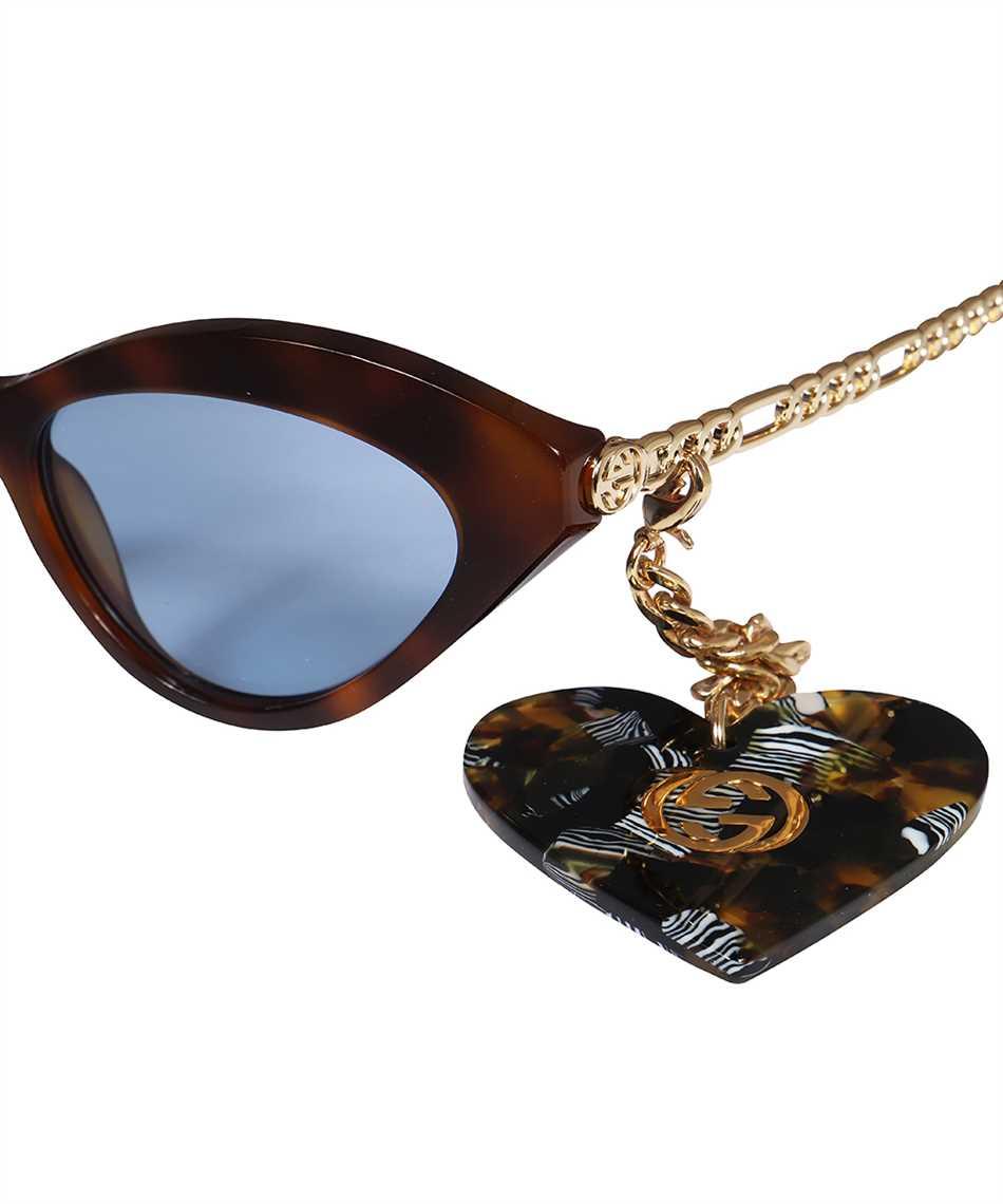 Gucci 663770 J0740 LOGO Occhiali da sole 3