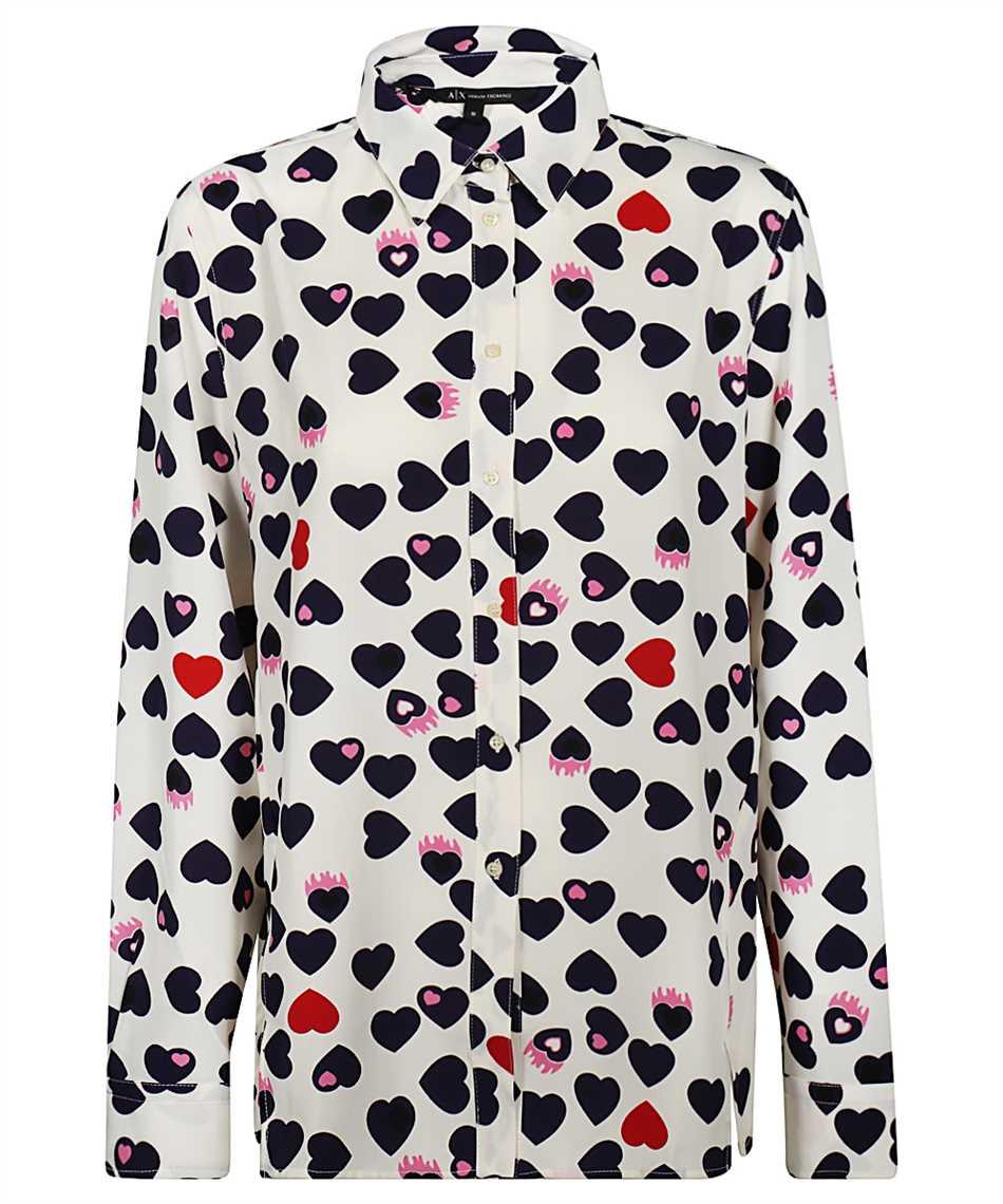 Armani Exchange 6HYC07 YNP5Z PATTERNED Shirt 1