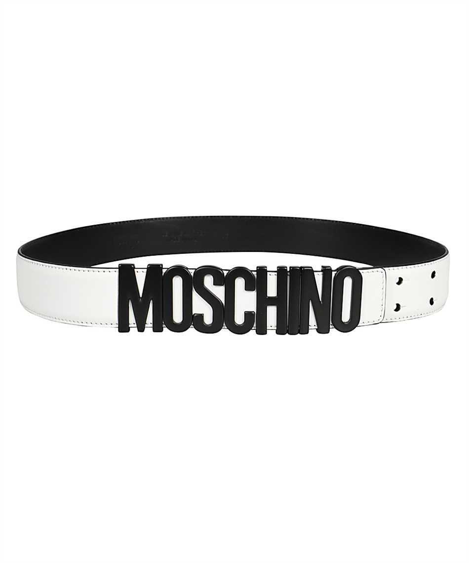 Moschino A8014 8001 LETTERING LOGO Belt 1