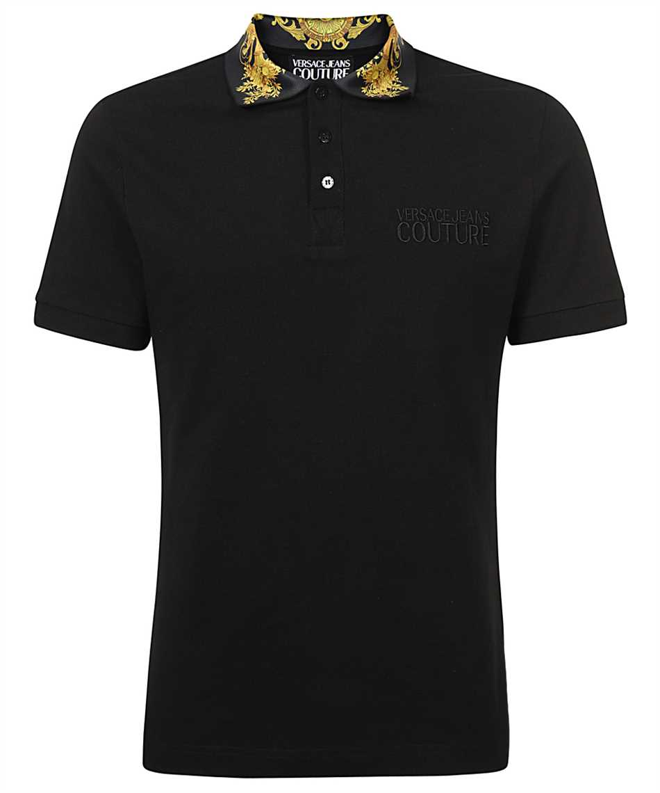 Versace Jeans Couture B3GWA7T2 36571 SLIM BAROQUE Polo 1