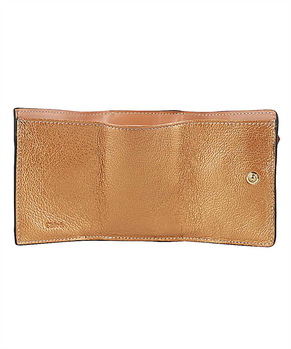 Chloé CHC20UP719C80 ALPHABET MINI TRI-FOLD Wallet 3