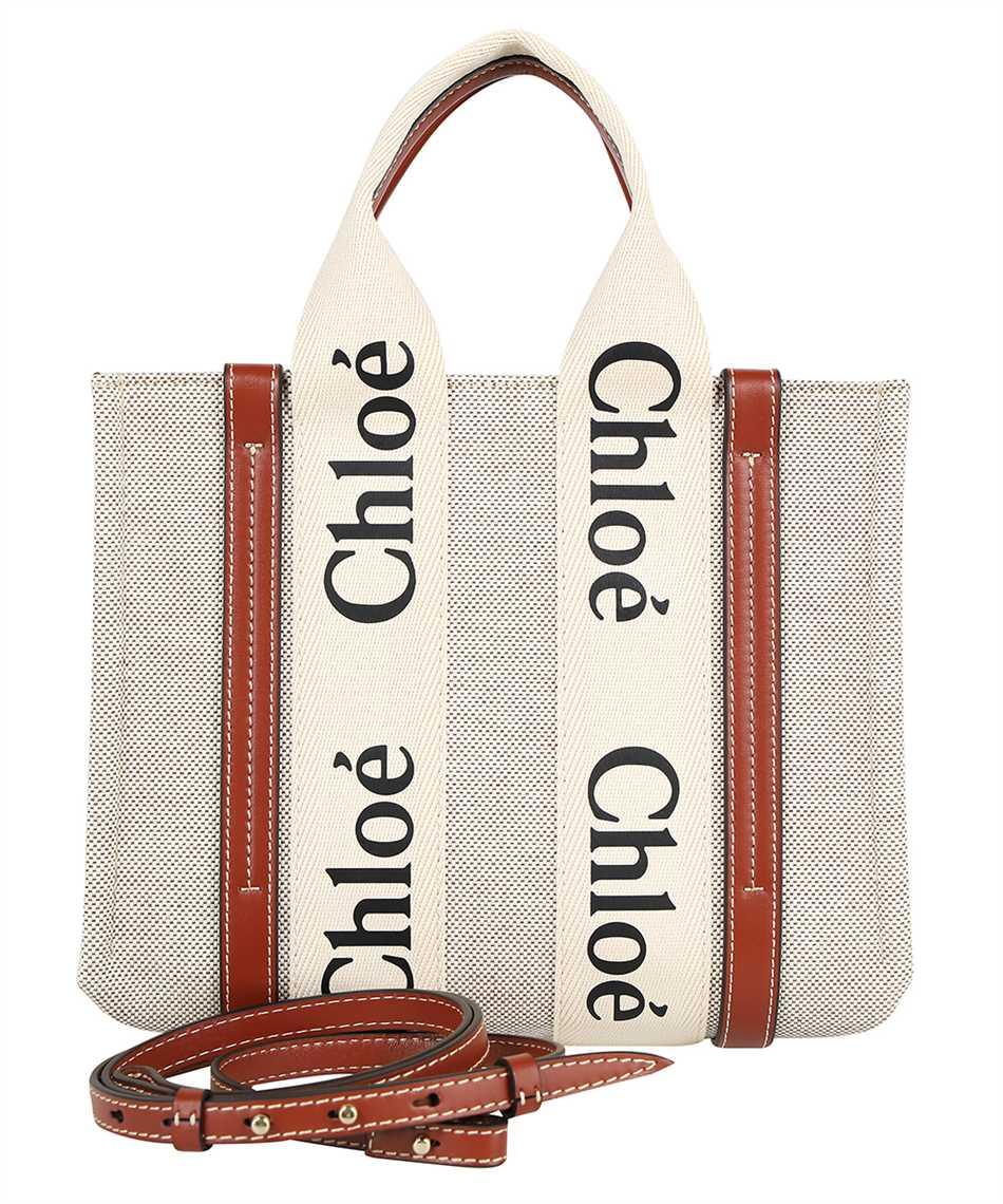 Chloé CHC21WS397E66 SMALL WOODY Borsa 2
