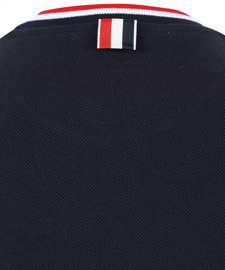 Thom Browne FJS068A 00050 RIB TRIMS T-shirt 3