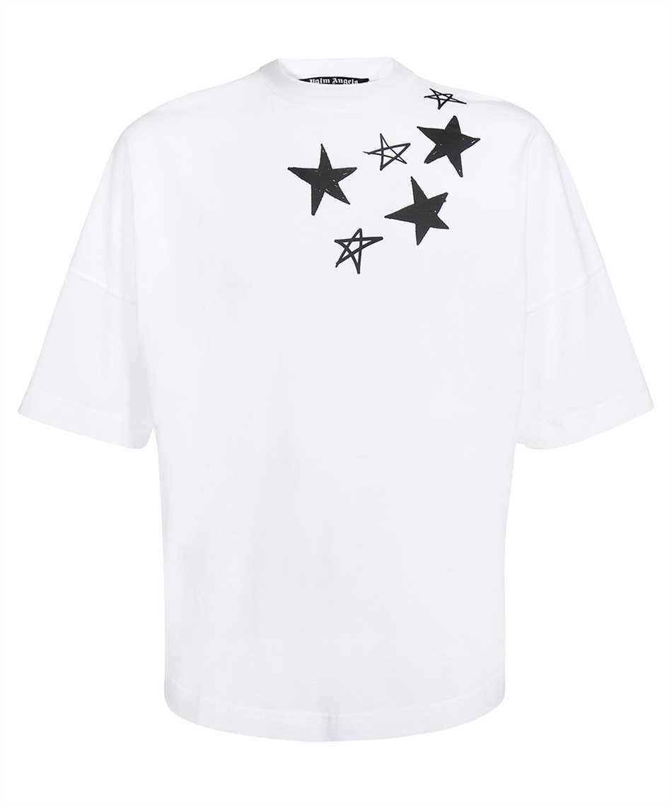 Palm Angels PMAA002F21JER004 SHOOTING STARS T-shirt 1