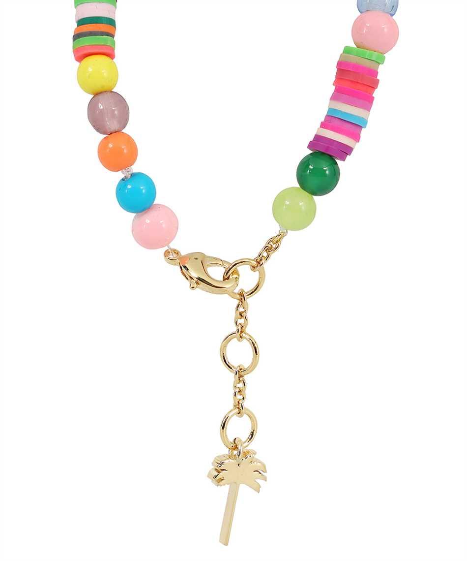 Palm Angels PMOA006F21MAT001 LOGO RAINBOW Bracelet 3
