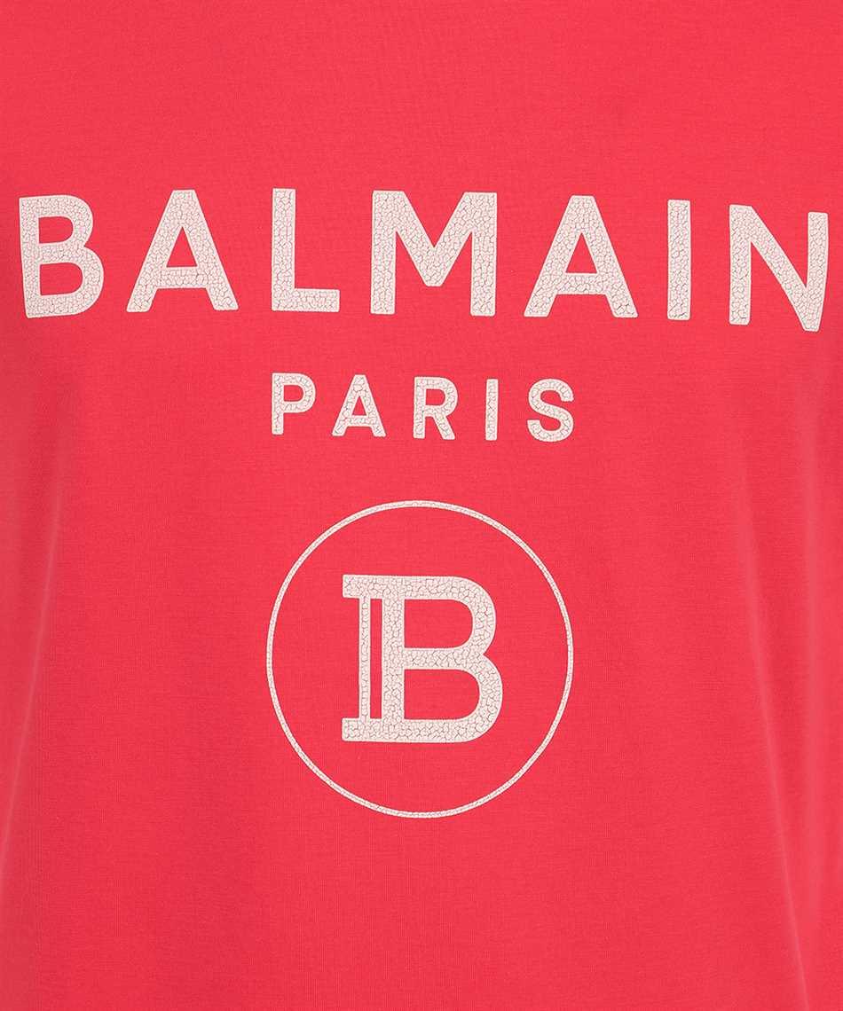 Balmain VH0EF000B080 CRACKED T-shirt 3