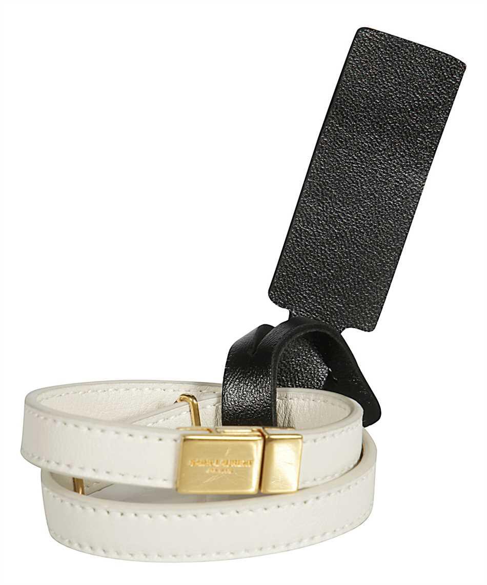 Saint Laurent 536073 BL40J OPYUM DOUBLE WRAP Bracelet 2