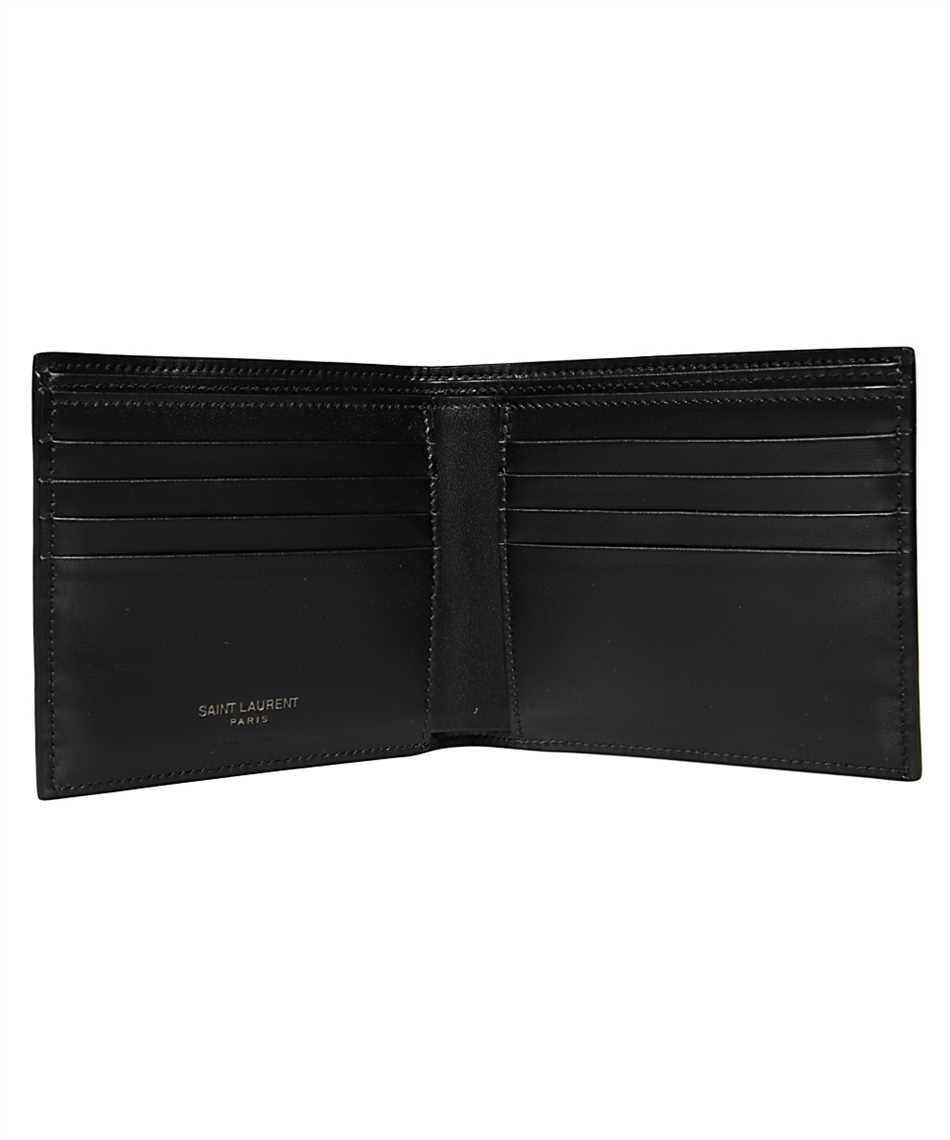 Saint Laurent 607727 1JB0U TINY MONOGRAM E/W Porta carte di credito 3