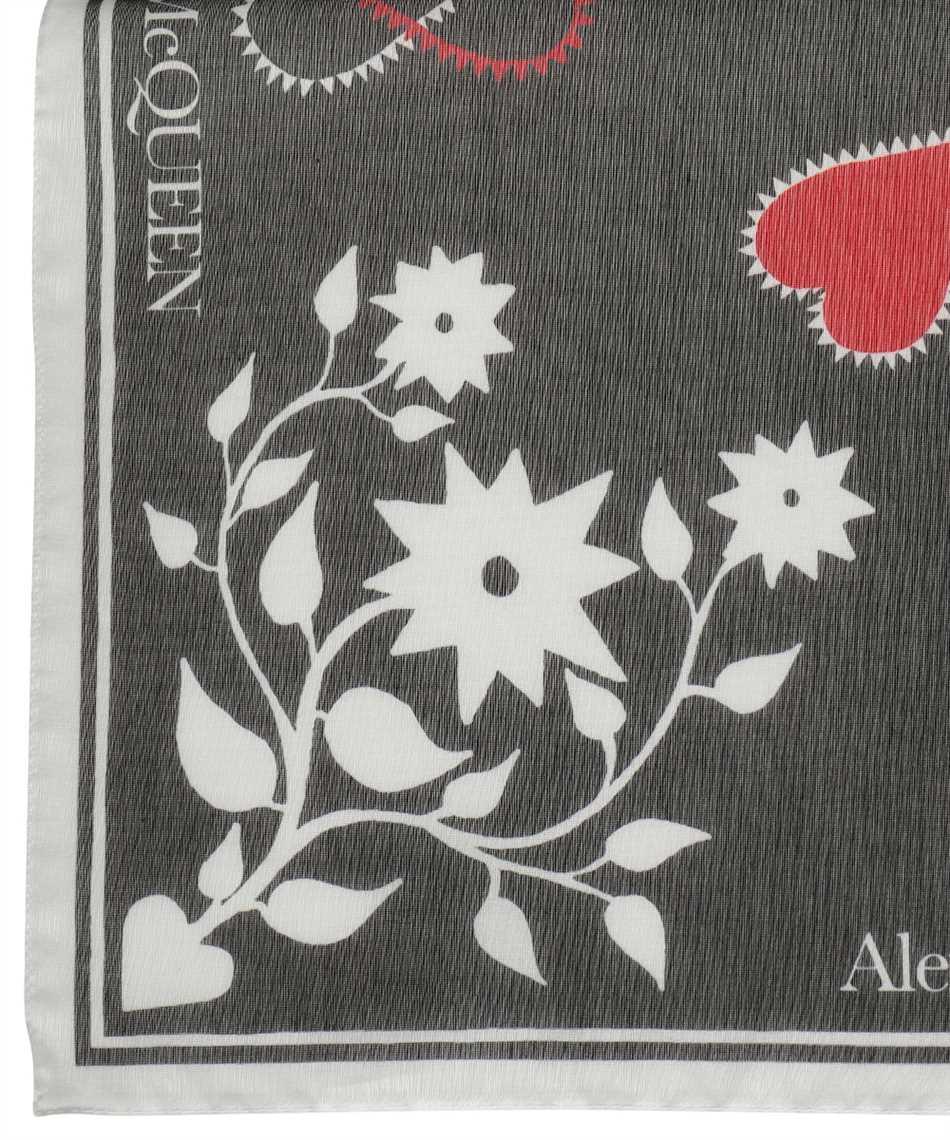 Alexander McQueen 666214 3624Q MYSTIC Schal 3