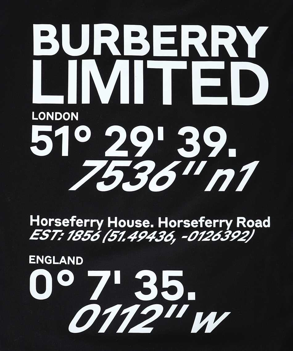 Burberry 8037291 COORDINATES PRINT COTTON OVERSIZED T-Shirt 3