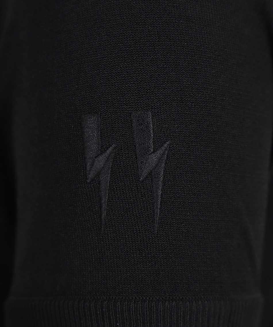 Neil Barrett BMA013E R601 TECNO KNIT T-shirt 3