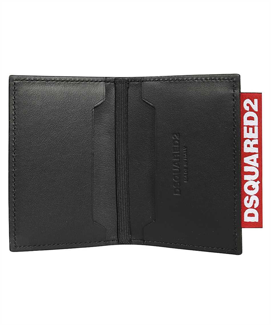 Dsquared2 WAM0012 01502858 ETICHETTA LOGO Wallet 3