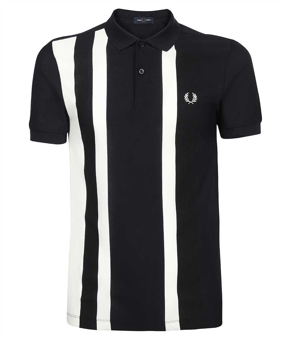 Fred Perry M1620 STRIPED PIQUÉ Polo 1