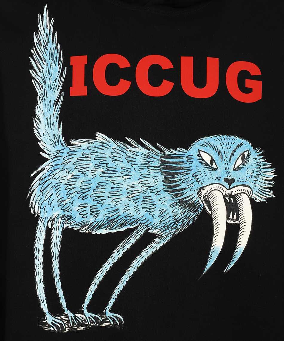 Gucci 646953 XJDJN FREYA HARTAS ICCUG ANIMAL PRINT Felpa 3
