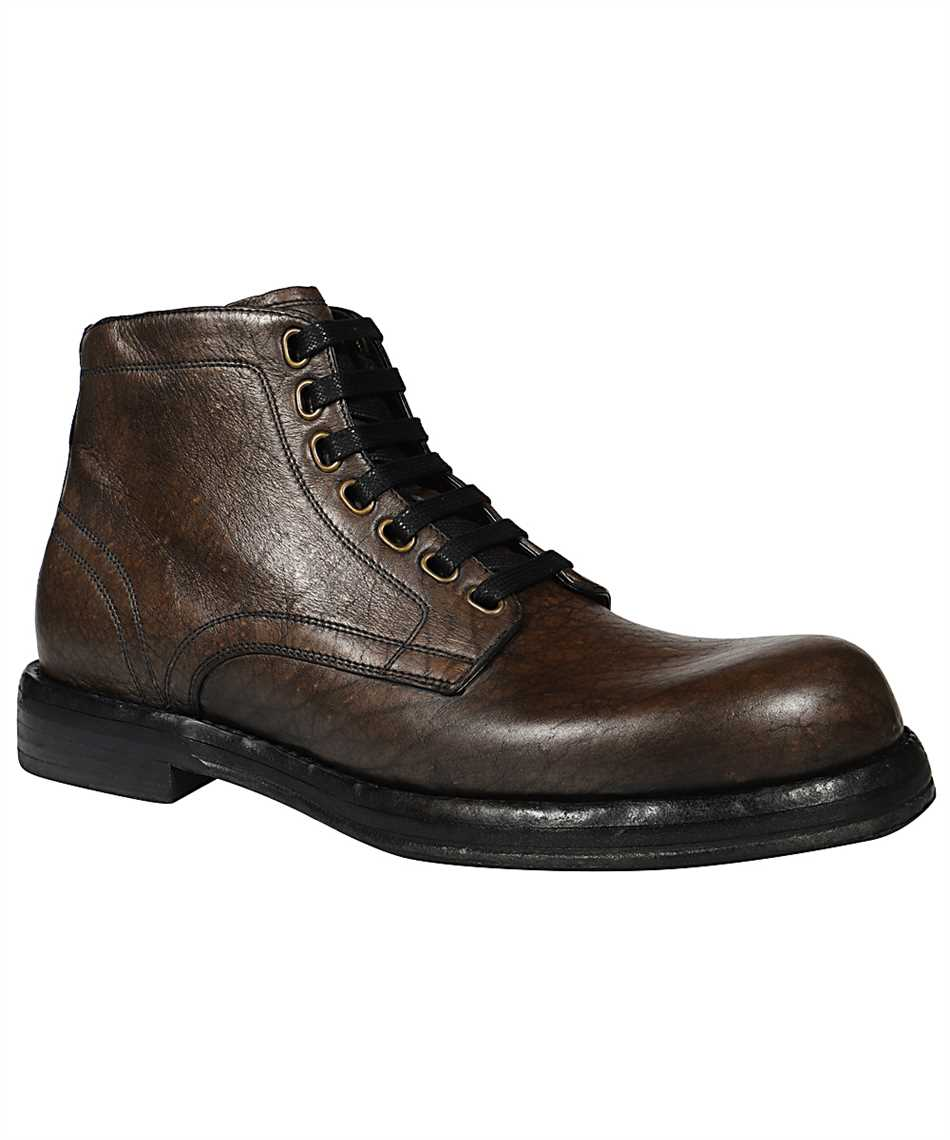 Dolce & Gabbana A60306 AW352 HORSEHIDE ANKLE Stiefel 2