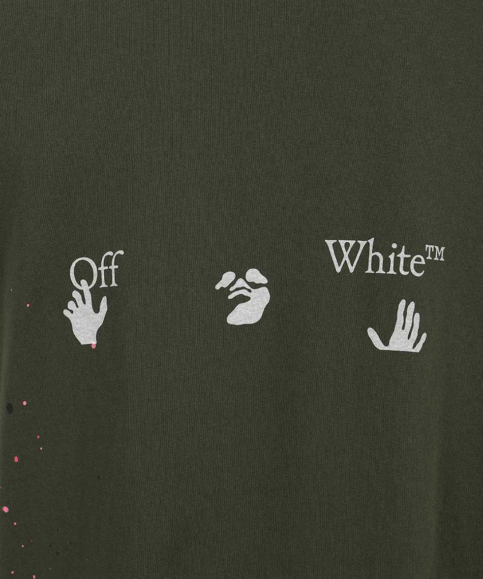 Off-White OMAA027S21JER002 VINTAGE PAINT S/S T-Shirt 3