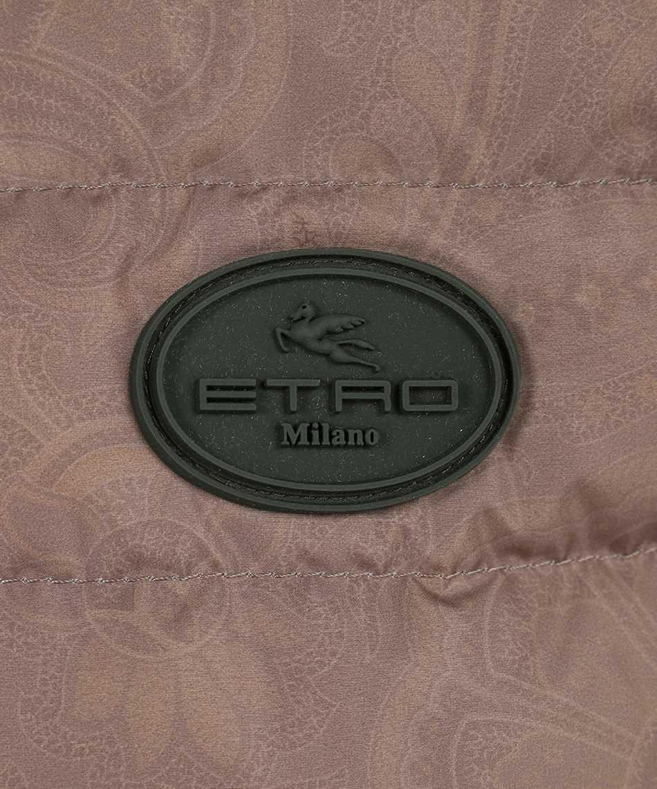 Etro 1N314 9557 WOOL DOWN Strickjacke 3