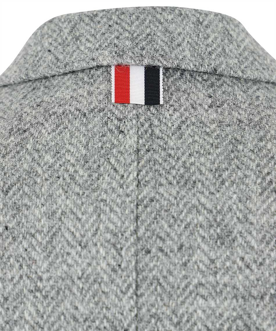 Thom Browne FBC334V 02508 HERRINGBONE HARRIS TWEED Giacca 3