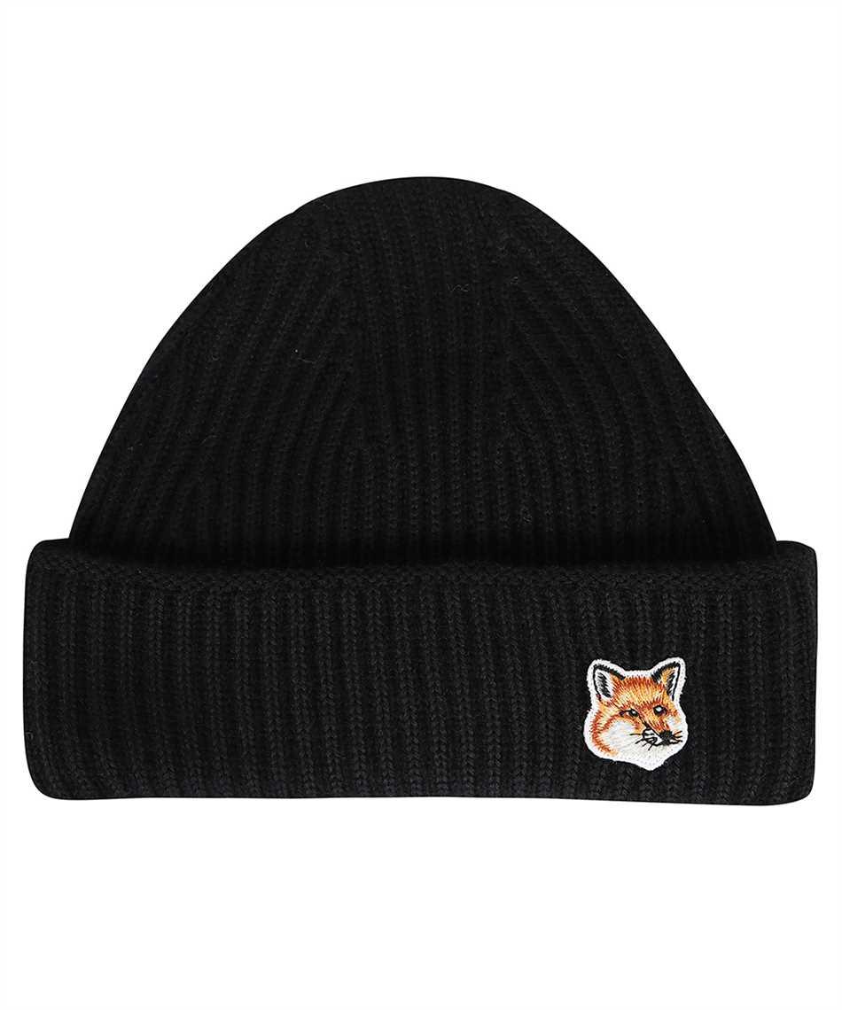 Maison Kitsune HU06149KT1022 FOX HEAD PATCH RIBBED Cappello 1
