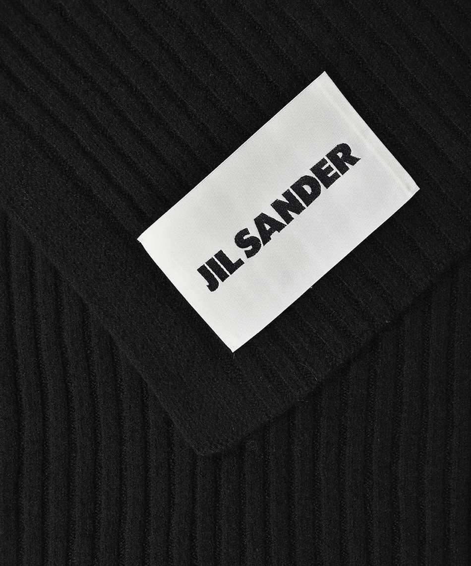 Jil Sander JSMT762027 MTY20408 RIBBED Schal 2