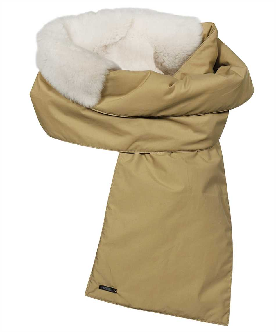 Karl Donoghue NCCPSW1 NYLON & CASHMERE TOUCH SHEARLING PADDED Schal 1