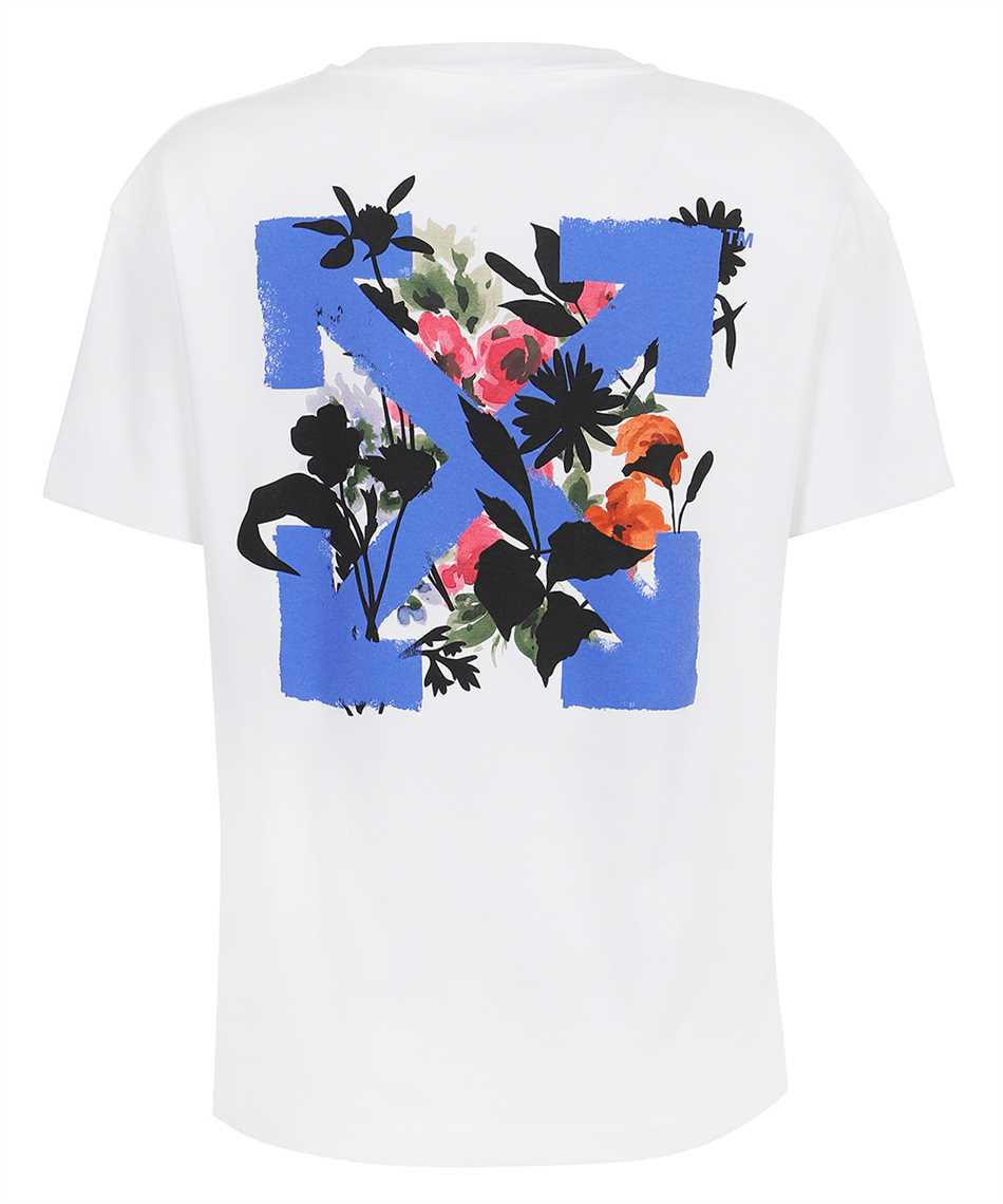Off-White OWAA089S21JER001 FLOWERS ARROWS T-shirt 2