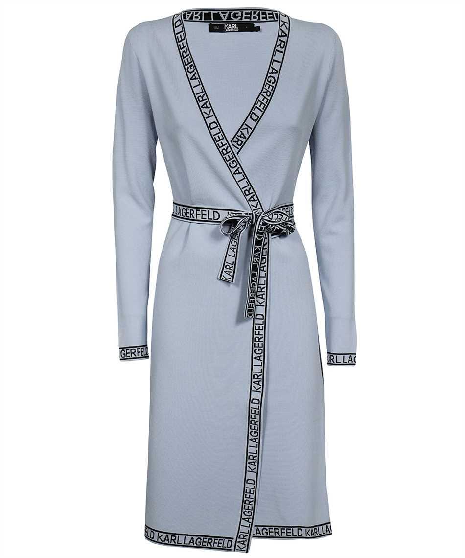 Karl Lagerfeld 215W1330 KNITTED WRAP Kleid 1