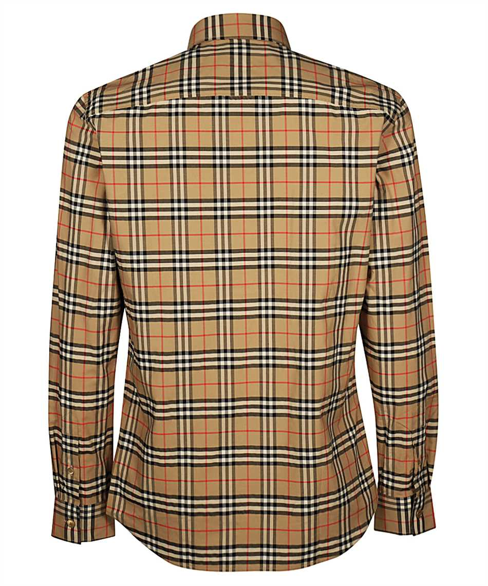 Burberry 8020966 SMALL SCALE CHECK STRETCH COTTON Shirt 2