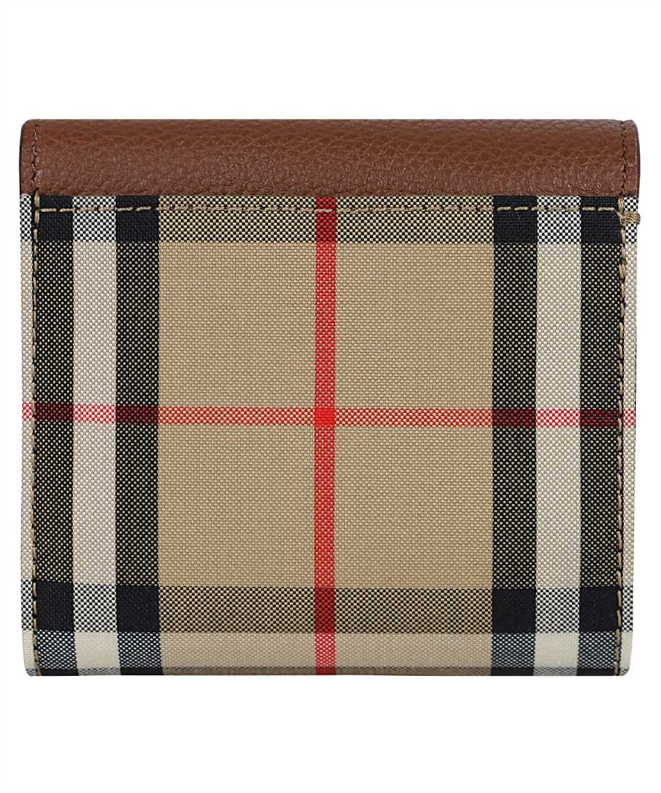 Burberry 8026116 VINTAGE CHECK AND GRAINY LEATHER FOLDING Wallet 2