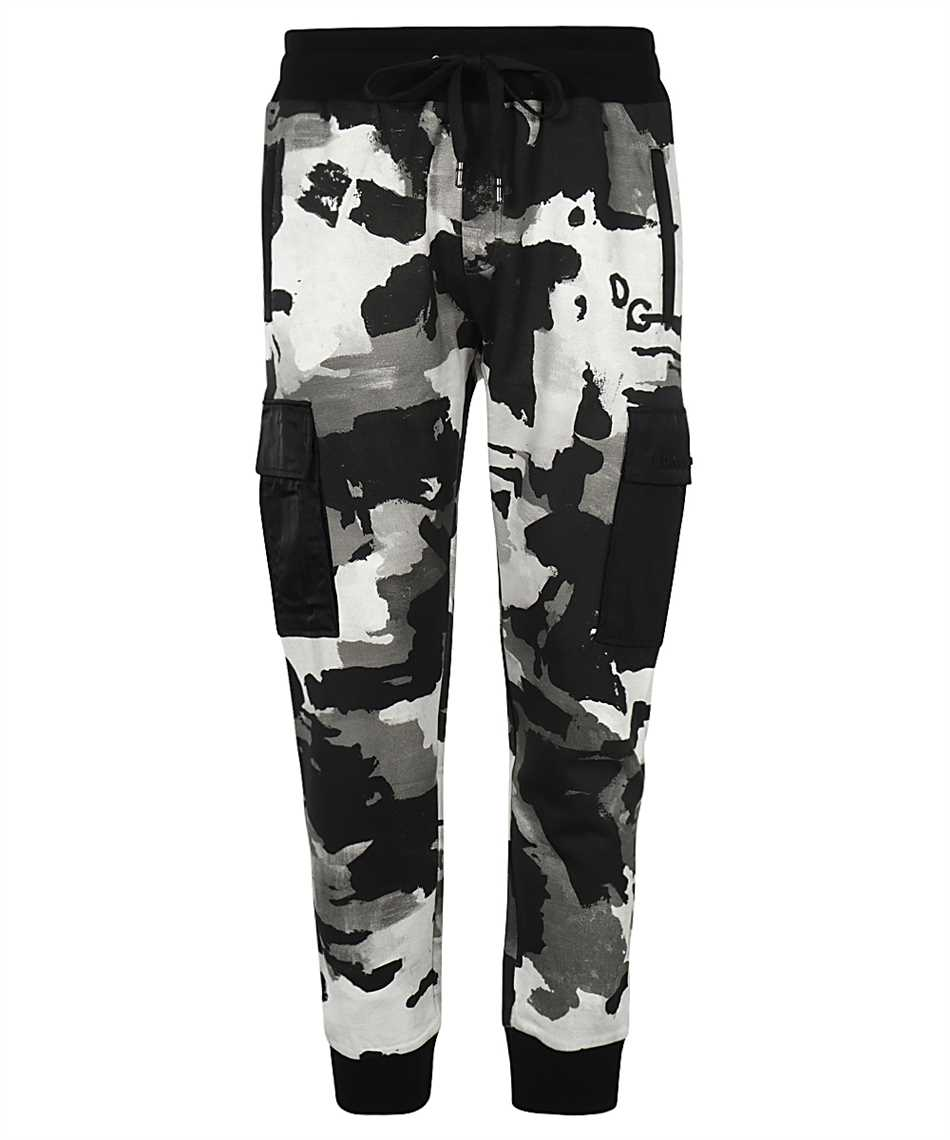 Dolce & Gabbana GWEGAZ HS7ES CAMOUFLAGE JOGGING Trousers 1