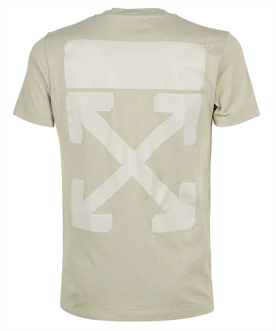 Off-White OMAA027F21JER007 RUBBER ARROW S/S SLIM T-shirt 2