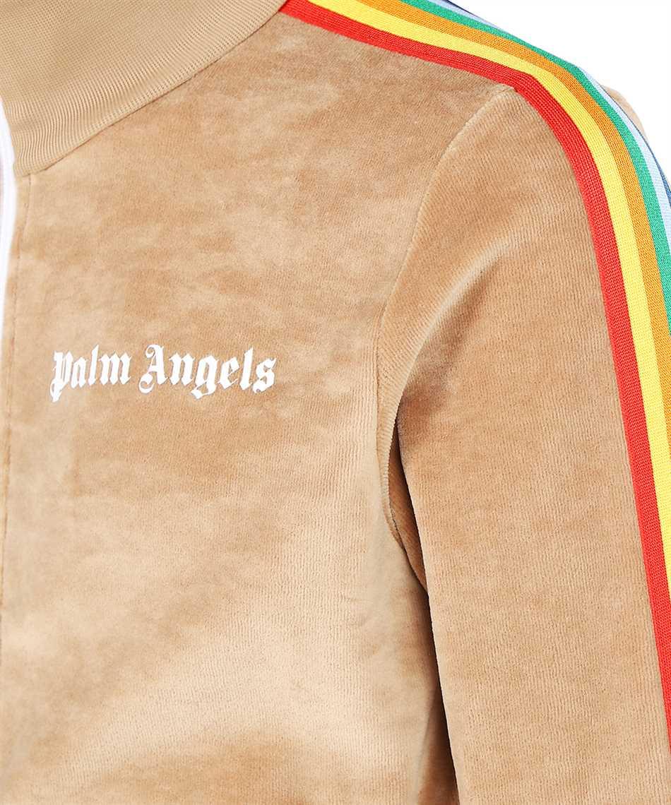 Palm Angels PMBD001F21FAB008 RAINBOW CHENILLE TRACK Jacket 3
