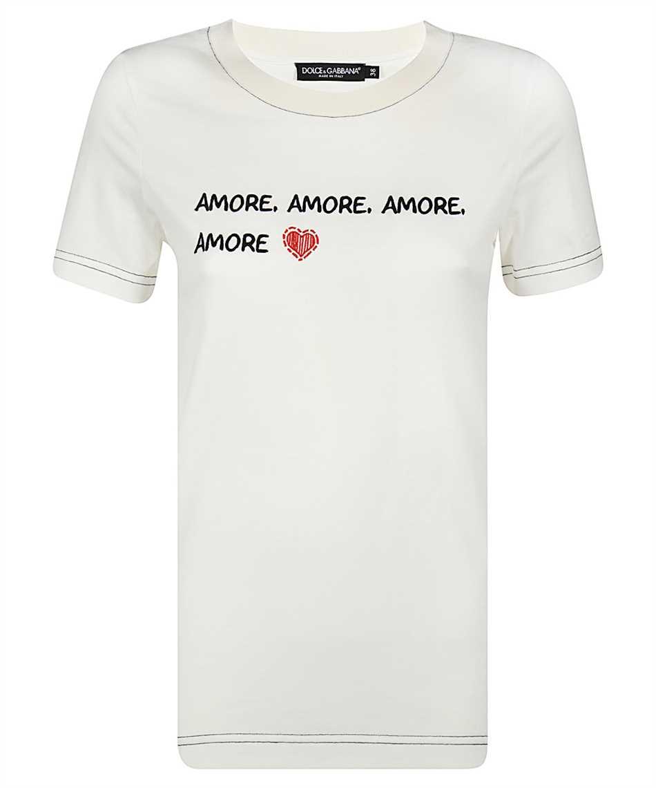 Dolce & Gabbana F8M68Z G7XCA AMORE T-shirt 1