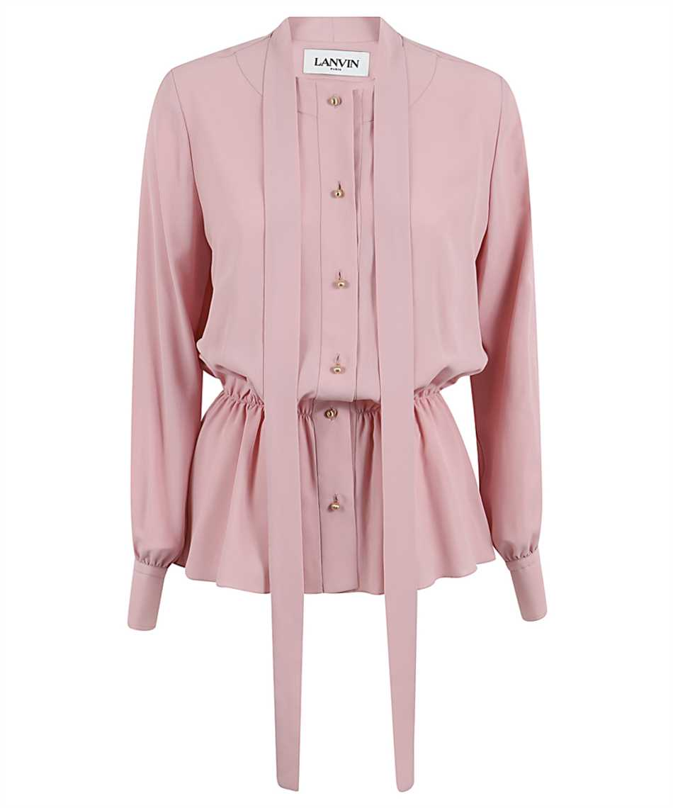 Lanvin RW-TO600U 4562 A20 PUSSYBOW BUTTONED Shirt 1