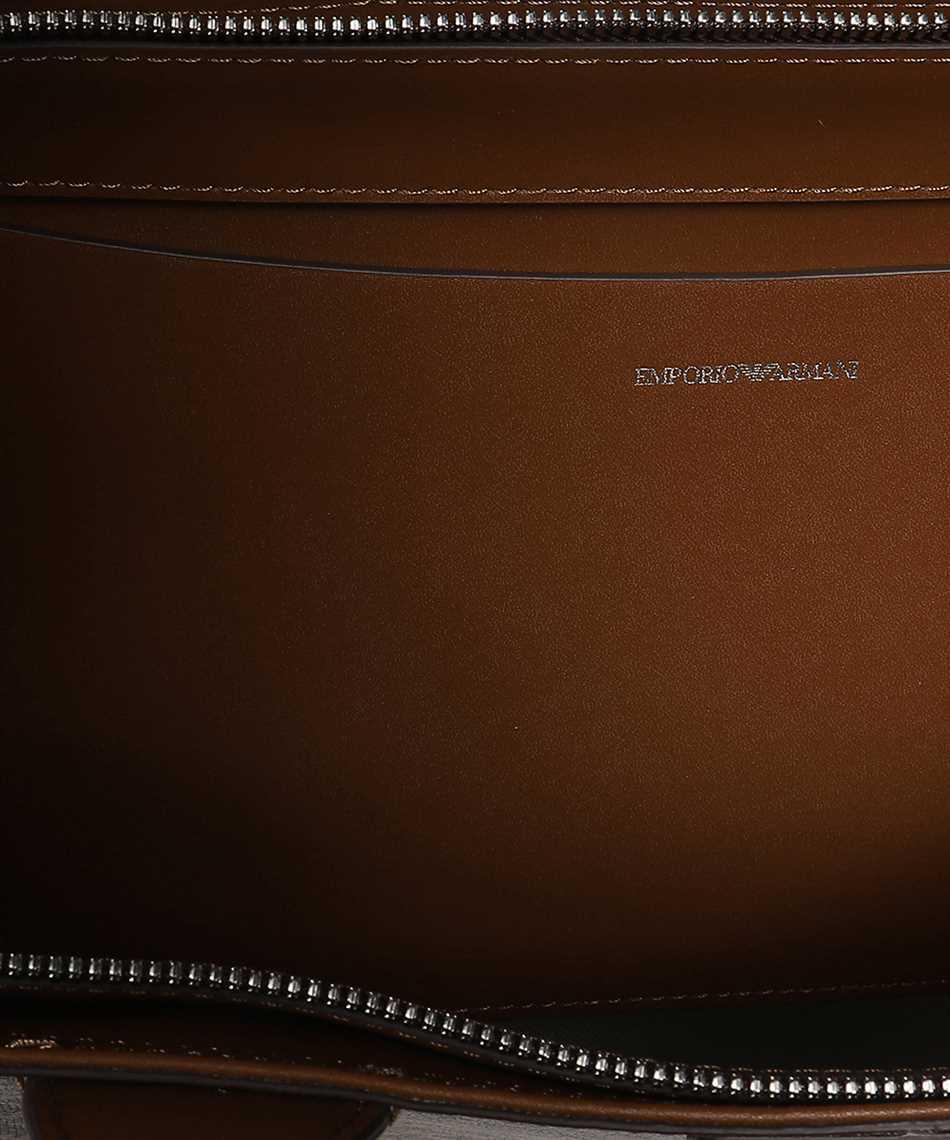 Emporio Armani Y3D099 YFG5E ALL-OVER LOGO TOTE Tasche 3