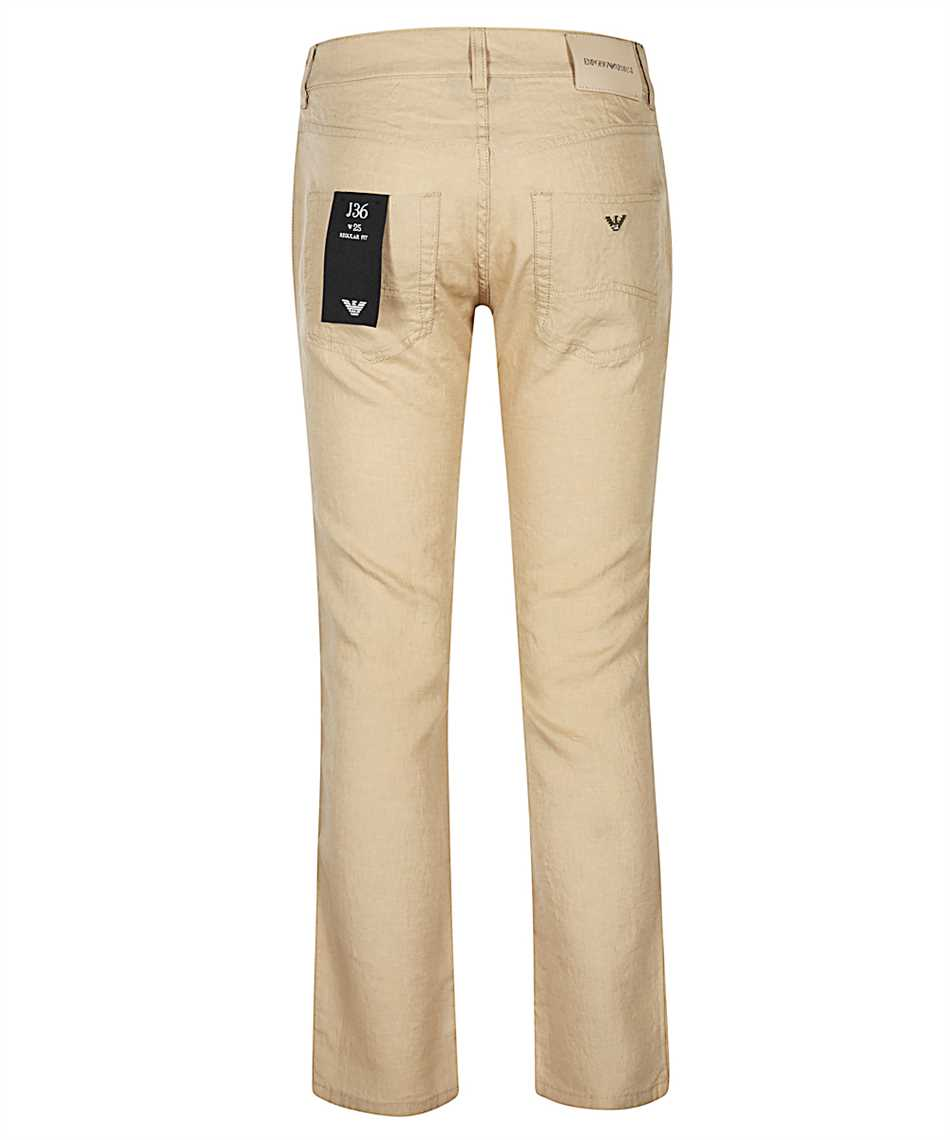 Emporio Armani 3H2J36 2N0ZZ STRAIGHT Pantalone 2