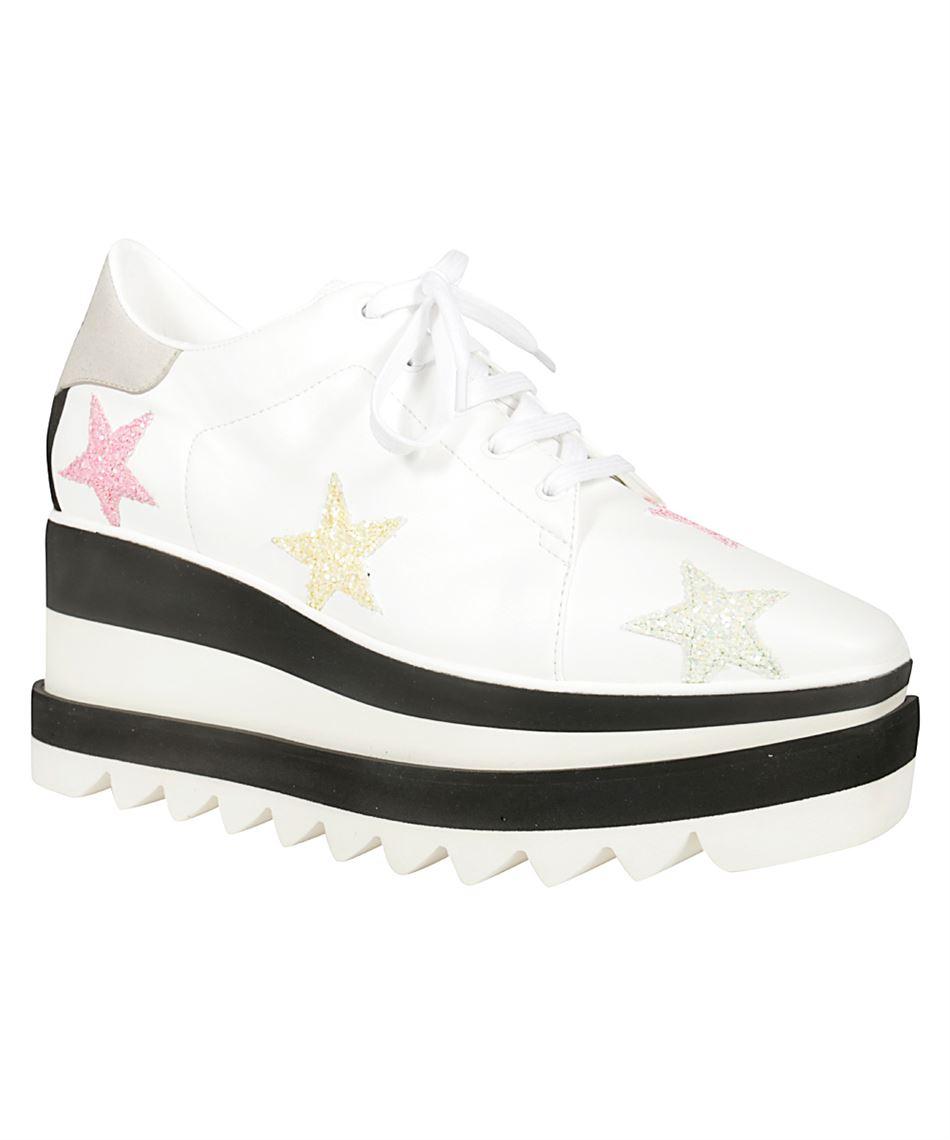 più vicino a alta moda ottima vestibilità Stella McCartney 501778 W1NR2 SNEAK-ELYSE scarpe con zeppa ...