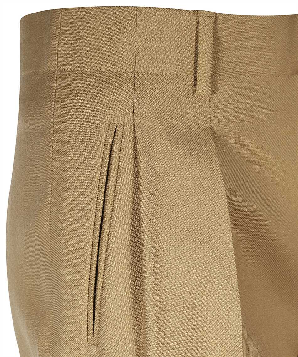Saint Laurent 627259 Y404W HIGH-RISE PLEATED Trousers 3