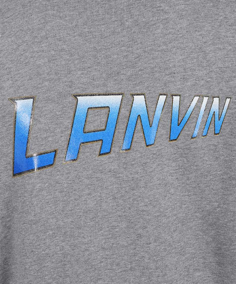 Lanvin RM HO0006 J065 A21 BACK PRINTED ZIPPED Hoodie 3