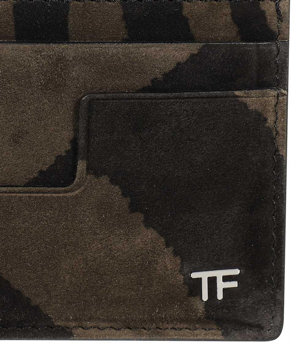 Tom Ford Y0232P-LCL078 ZEBRA SUEDE Kartenetui 3