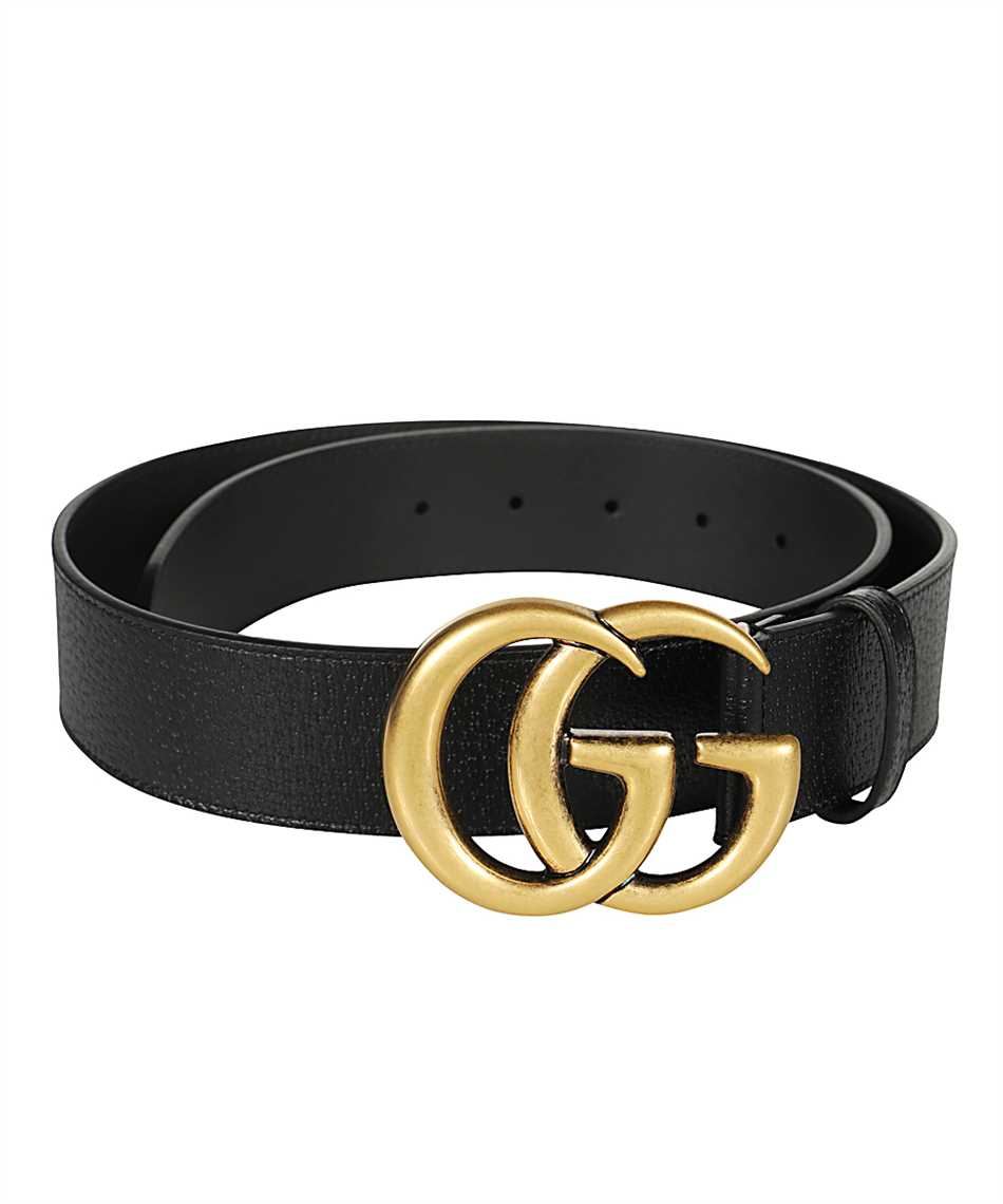 Gucci 406831 DJ20T DOUBLE G BUCKLE Belt 2