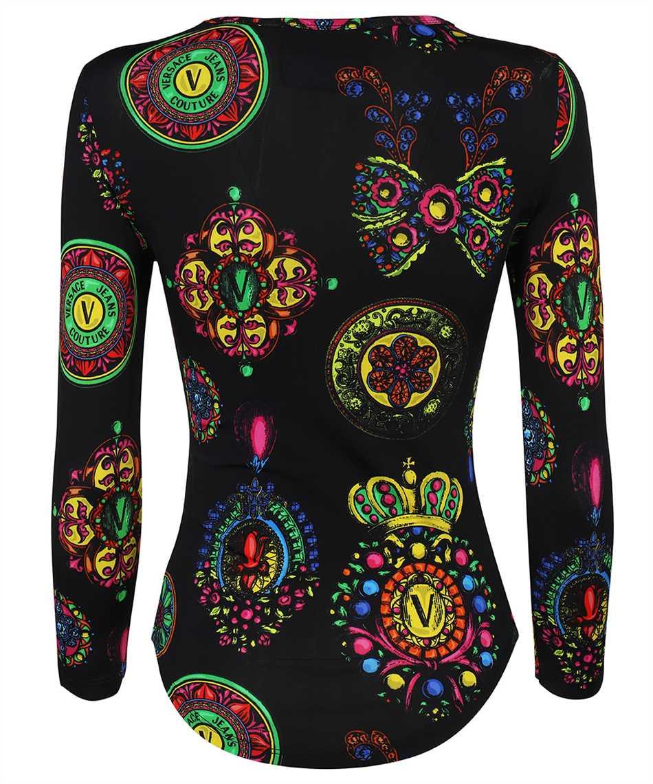 Versace Jeans Couture 71HAH216 JS011 FLUIDO PRINT T-Shirt 2